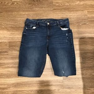 EUC Distressed Old Navy Jeans